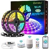 Onforu 20M WiFi Tiras LED, Led RGB Tira Inteligente, Compatible con Alexa, 600 LEDs, Sincronización de Música, Control de APP