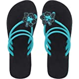SOLETHREADS Lilly | Summer Fresh| Floral | Stylish| Comfortable | Flip Flops for Women