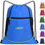 G4Free Kordelzug Sporttasche Rucksack Gymsack für Erwachsene und Jugendliche Badetasche Kinder Schule PE Tasche