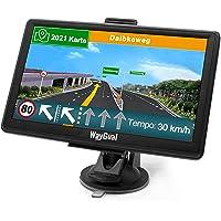 GPS Navigationsgerät für Auto LKW - WayGoal Navigation 7 Zoll Navi für Auto PKW, Lebenslang Kostenloses Kartenupdate mit…