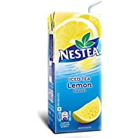 Nestea Iced Tea Ready to Drink Lemon Flavor, 200ml Tetra Pack