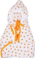 132 Soft Swaddle Sleeping Bag Baby Wrapper (Peach)