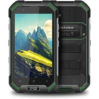 Smartphone Antiurto,Blackview BV6000S Cellulari Offerte Resistente/Antiurto/IP68 Impermeabile,2GB RAM+16GB ROM e Fotocamera 8MP + 2MP, e Batteria 4500mAh, Dual SIM,NFC,GLONASS-Verde