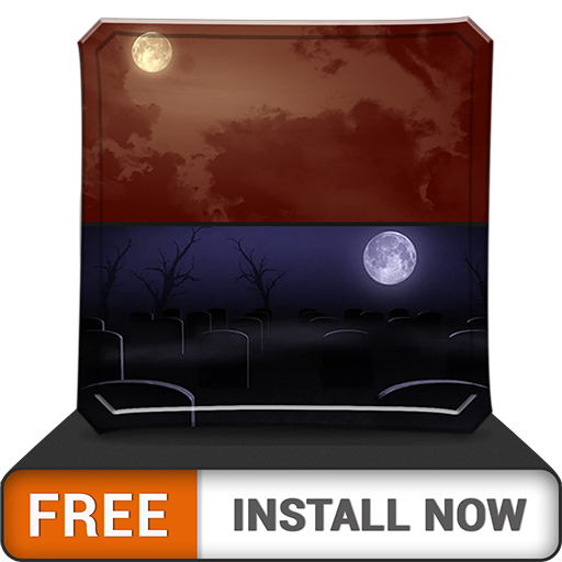Scary MoonLights HD - FREE Wallpaper & Themes (Zombies Halloween Wallpaper)