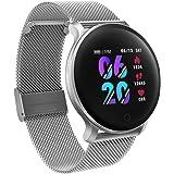 moreFit Fitness Armband Uhr, Smartwatch Fitness Tracker mit Pulsmesser Wasserdicht IP68 Fitness Uhr Pulsuhr…