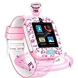 Fitonme Smartwatch Niños,Reloj Inteligente Teléfono niños niñas con HD Pantalla táctil Música Cámara Juego Calculadora Smartw
