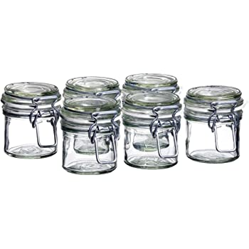 ikea 4 er set einmachgl ser slom aufbewahrungsglas 0 5 liter glasdose mit silikonring. Black Bedroom Furniture Sets. Home Design Ideas