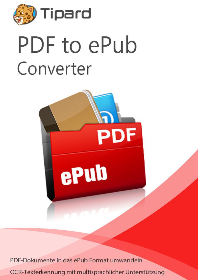 Tipard PDF to ePub Converter - lebenslange Lizenz [Download] (Download Epub)