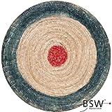 BSW Runde Strohscheibe Deluxe - Ø 80 cm x 8 cm - Zielscheibe