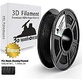 TPU Filament 3D Hero PLA Filament 1.75mm,PLA 3D Printer Filament, Dimensional Accuracy +/- 0.02 mm, 0.5KG,1.75mm Filament, Bonus with 5M PCL Nozzle Cleaning Filament