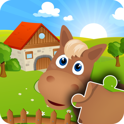 Farm Animal Games - Adorable family Jigsaw Puzzles for Kids, boys, girls and preschool toddlers - Free trial -