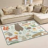 Use7 Tapis antidérapant pour salon, chambre à coucher, 50 x 80 cm