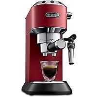 De'Longhi Dedica Style EC 685.R Espresso Siebträgermaschine, Espressomaschine mit Professioneller Milchschaumdüse, nur…