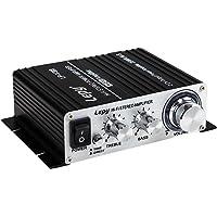 Lepy LP-V3s piccolo amplificatore HIFI per auto,PC, casa ,iphone+ Alimentatore 3A EU