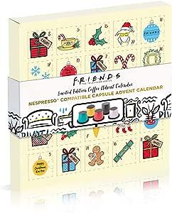 Friends Capsules Nespresso   Calendrier de l'Avent: Amazon.fr