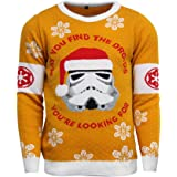 Official Star Wars Stormtrooper Christmas Jumper/Ugly Sweater