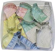 R & M International 1812 Baby Shower 6-Piece Cookie Cutter Gift Set