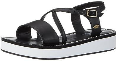 ONeill Fw Artisan Sandali con Cinturino alla Caviglia Donna Nero Black