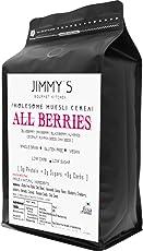 Jimmys Gourmet Kitchen Berry Muesli All Berries Sugar Free Oil Free Vegan Gluten Free 350gms
