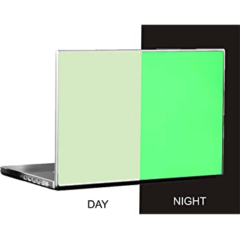 Tufkote GLOW IN THE DARK Laptop Skin, Color Green, Free Size Fits All