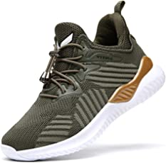 VITIKE Unisex-Kinder Sneakers Jungen Mädchen Sneaker Outdoor Schuhe Jungen Turnschuhe Laufschuhe Schnürer Freizeit Schnürer Sportschuhe Sneaker