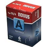Novus A 53 fijne draadklemmen 5000 stuks 6 mm Stuk