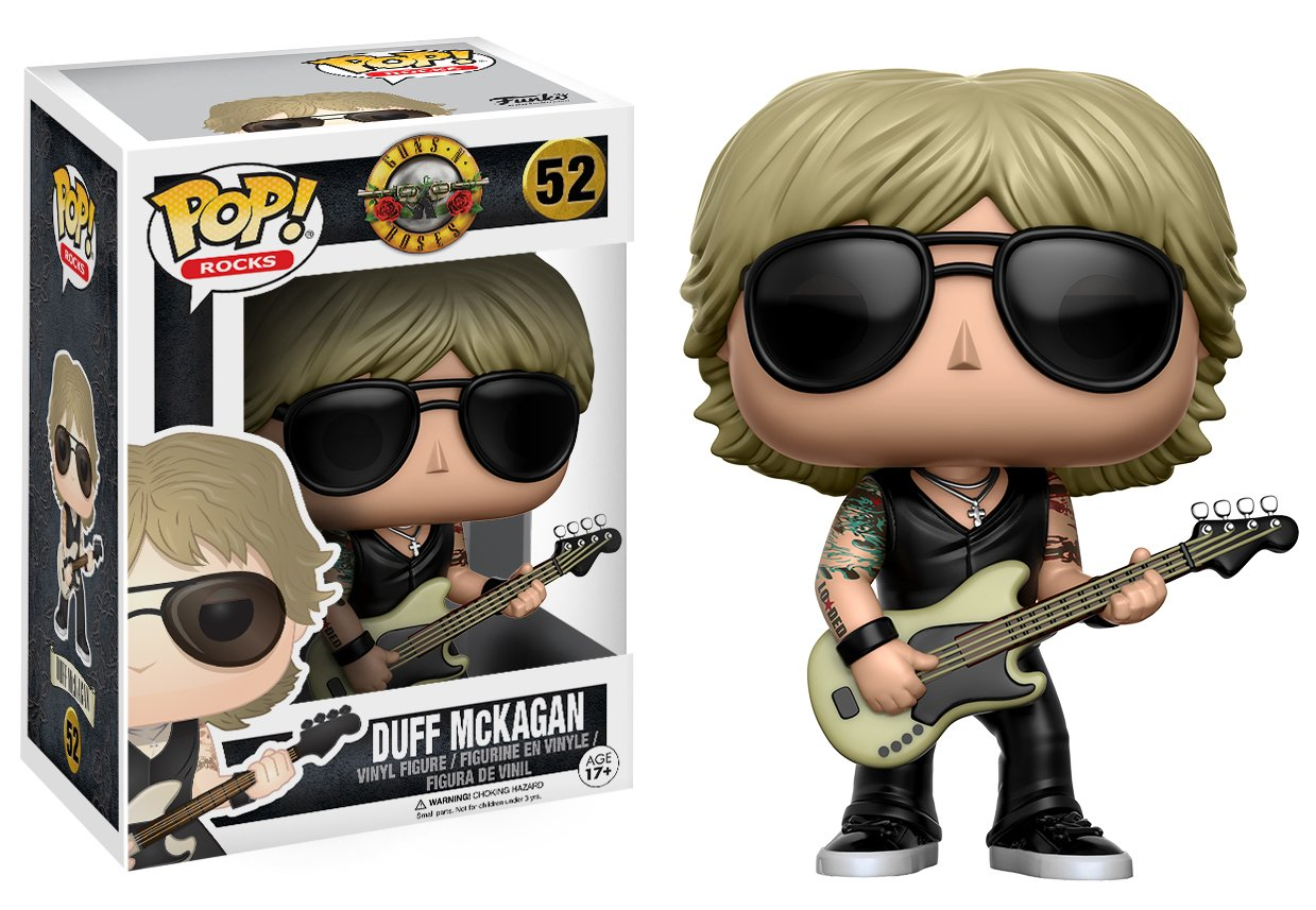 Funko Pop Duff McKagan (Guns N' Roses 52) Funko Pop Cantantes y Músicos