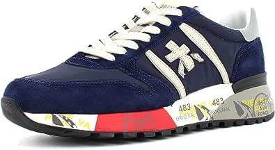 PREMIATA Sneakers Uomo Modello Lander Blu LANDER3756