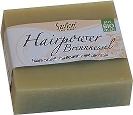 Savion Haarwaschseife Hairpower Brennessel, 85 g