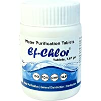 Water Purifying Tablets Overhead Underground Water Tank Cleaning Purification Tablets - 3 Years Shelf Life (1.67gm - 500…