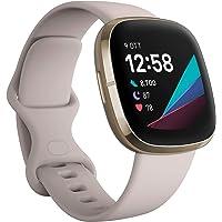 Fitbit Sense - Smartwatch Evoluto con Strumenti per la Salute del Cuore, Gestione dello Stress, Monitoraggio della…