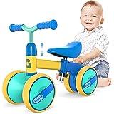 Gonex Bicicleta sin Pedales para Niñas y Niños de 10-36 Meses Bicicleta Equilibrio de Altura Ajustable Triciclos Bebes Correp
