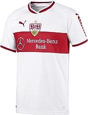Puma Herren VfB Stuttgart Home Replica Shirt W.Sponsor Trikot