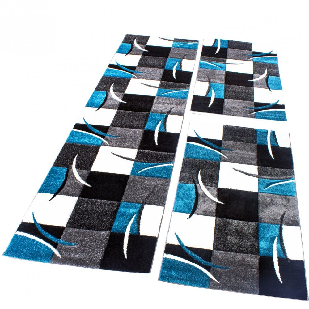 schwarzer teppich meterware beautiful schwarzer teppich hochflor langflor shaggy teppich aloha. Black Bedroom Furniture Sets. Home Design Ideas