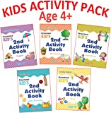 Kid's Activity Age 4+ - Pack (5 Titles-  English, Maths, Environment, Good Habits, Logical Reasoning)