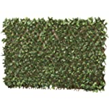 Artificial Evergreen Laurel Leaf Hedge Trellis 1 x 2m Expandable Privacy Screening Panel for Gardens, Balcony and…