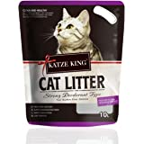 Foodie Puppies Katze King Strong Fragrance Cat Litter, 10L- 7kg, Lavender