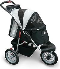 Innopet Comfort EFA Haustierwagen/Buggy, Regen-/Windschutz, zusammenklappbar, für Hunde/Katzen (Cremefarben)