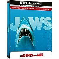Les Dents de la mer [4K Ultra HD + Blu-Ray-Édition 45e Anniversaire-Boîtier SteelBook]