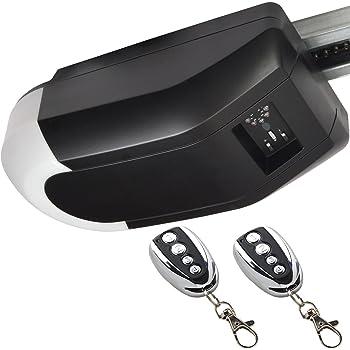 Soltec Kit pour porte de garage à bascule ou enroulage - jusqu'à 12m²/max + 2 télécommandes infrarouge