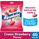 Alpenliebe Gold, Cream Strawberry Candy Pouch, 184g, 46pc