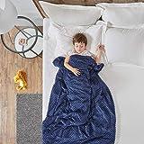 Manta con 2 Fundas Reemplazables - Manta de Gravedad Ideal para niños Que sufren de sueño, RLS, ansiedad, Autismo y ADHD - Ma