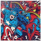 Grupo Erik Editores Marvel Comics - Calendario 2017, 30 x 30 cm