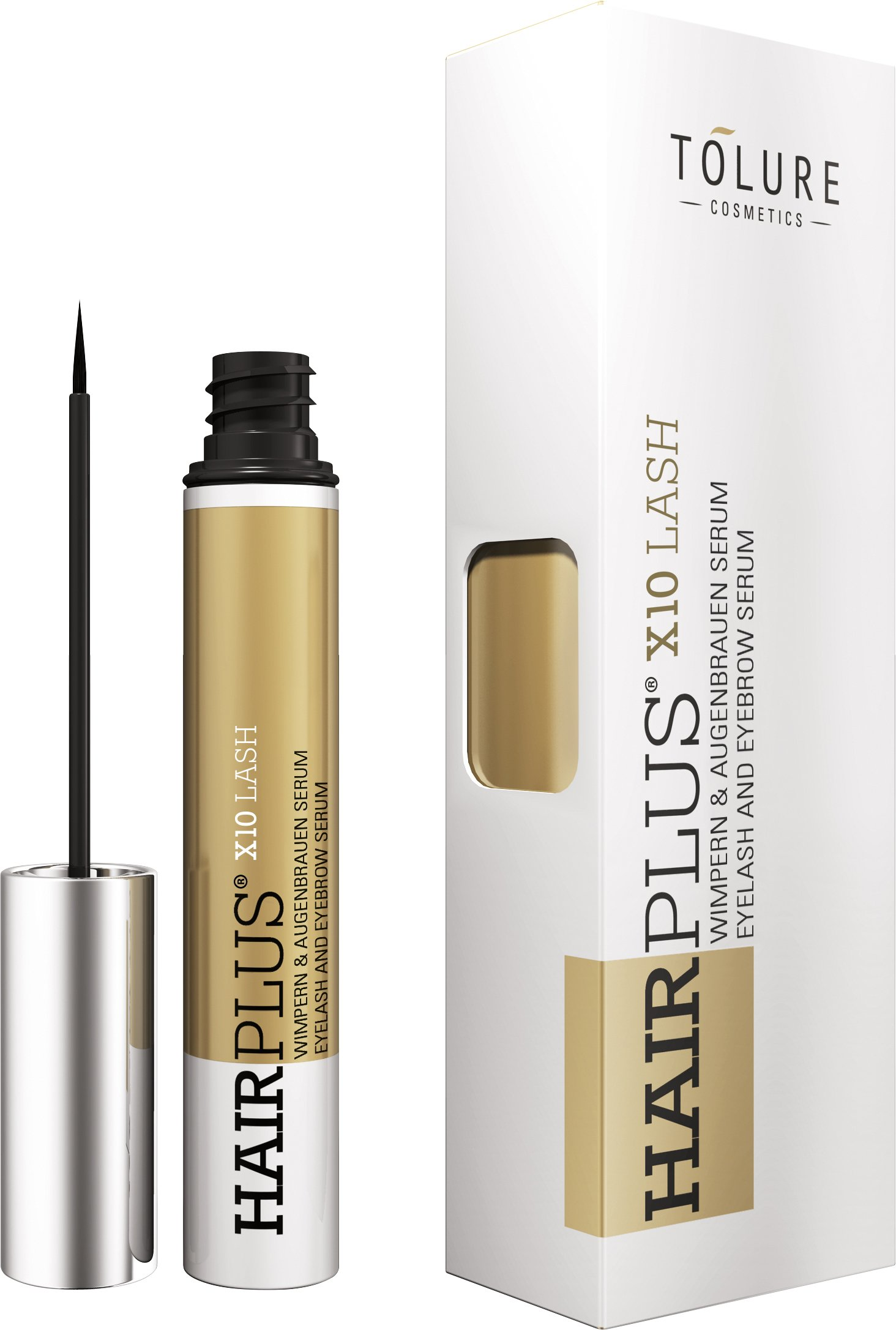 Tolure Cosmetics Hairplus X10Lash – Sérum para pestañas y cejas