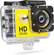 Hamlet XCAM720HD 12MP Full HD action sports camera - Action Sports Cameras (Full HD, 1920 x 1080 pixels, 30 fps, 640 x 480,1280 x 720 pixels, AVI, 720p,1080p)