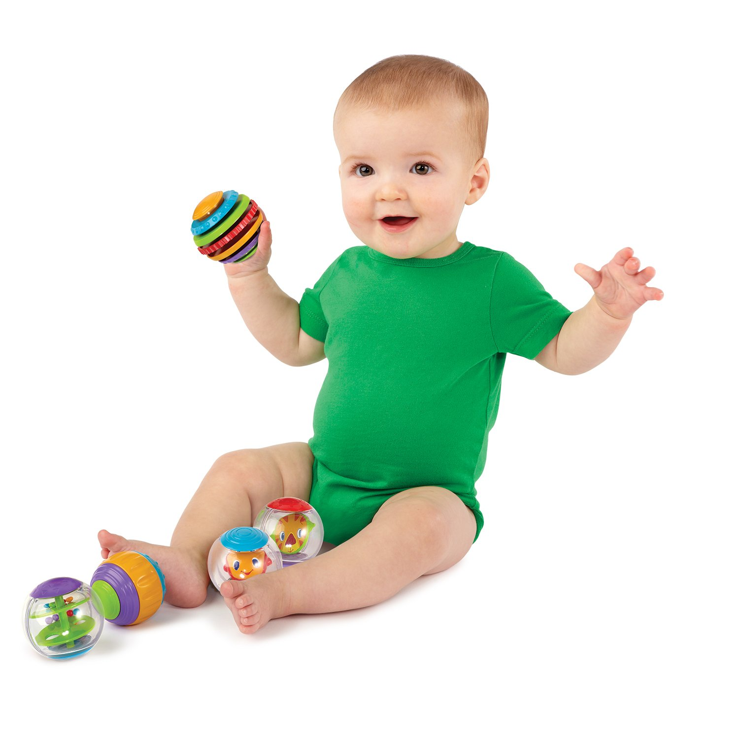 Bright Starts Shake & Spin Activity Balls Bright Starts Amazon