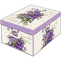 Kanguru Boîte en carton, Violette, SMALL