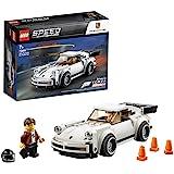 LEGO75895SpeedChampions1974Porsche911Turbo3.0Speelgoedauto met Racer Poppetje,ForzaHorizon4UitbreidingssetModel