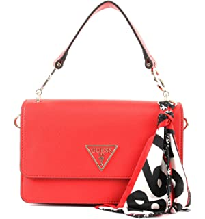 Guess Colette Mini Society Crossbody, Borsa a Tracolla Donna