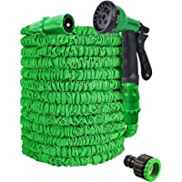 Expandable Garden Hose,50ft Garden Hose Pipe,Garden Hosepipes,Magic Lightweight Watering Hose Pipe with 8-Pattern High…